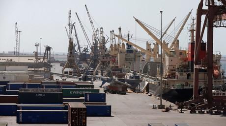 ميناء الحديدة (24/11/2016)