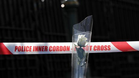 موقع الهجوم الإرهابي أمام البرلمان البريطاني