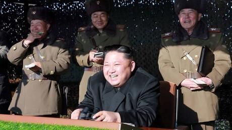 كيم جونغ أون زعيم كوريا الشمالية - أرشيف