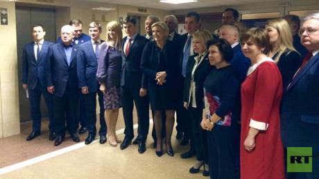 لوبان في مجلس الدوما الروسي