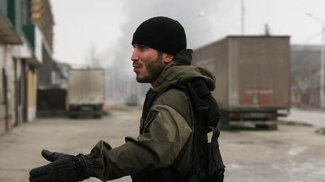 عنصر من القوات الروسية الخاصة في الشيشان
