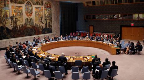 صورة أرشيفية من جلسة لمجلس الأمن الدولي