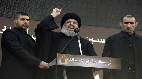 """الأمين العام لـ""""حزب الله"""" حسن نصر الله"""