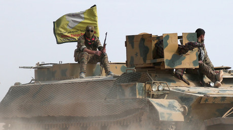 مقاتلين من قوات سوريا الديمقراطية (أرشيف)