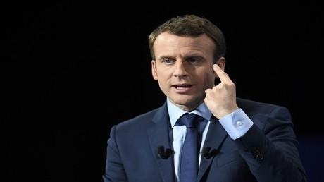 المرشح إيمانويل ماكرون