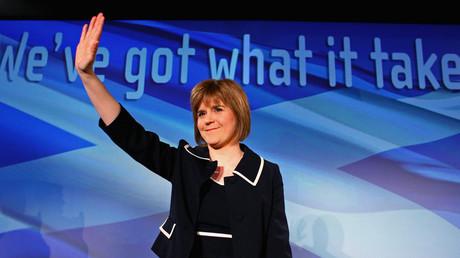 رئيسة وزراء اسكتلندا، نيكولا ستيرجن