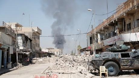 المعارك في غرب الموصل