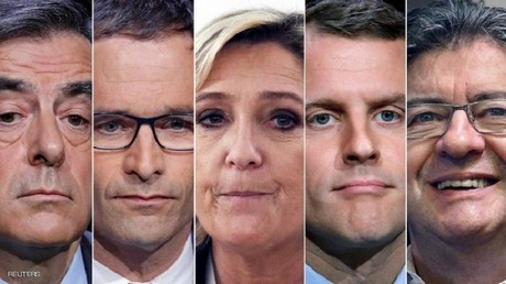 المتنافسون الفرنسيون على كرسي الإليزيه