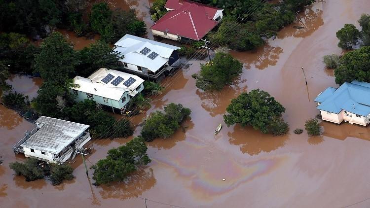 قتيلتان ومفقودون في فيضانات تجتاح أستراليا