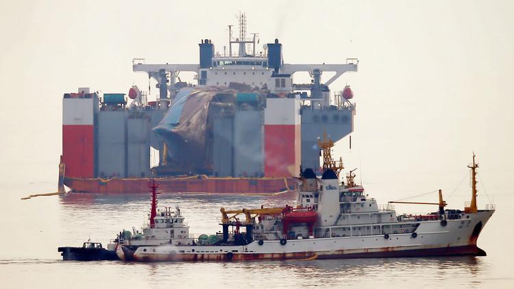 فقدان سفينة شحن كورية جنوبية بعد إطلاقها نداء استغاثة