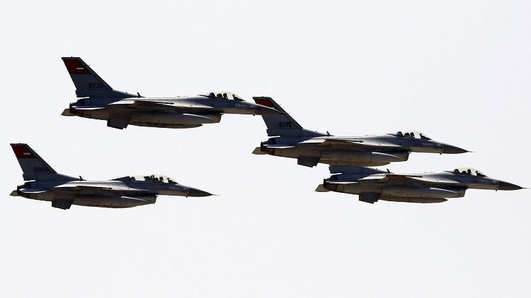 سلاح الجو المصري يصفي 14 مسلحا شمالي سيناء