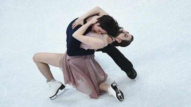 كندا تتوج ببطولة العالم في الرقص الفني على الجليد
