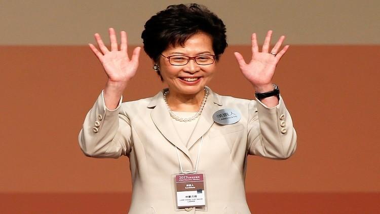 بكين تصادق على تعيين  كاري لام، رئيسة تنفيذية لهونغ كونغ