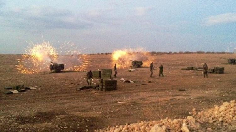 الجيش السوري يهاجم النصرة لتحرير حلفايا بمحافظة حماة