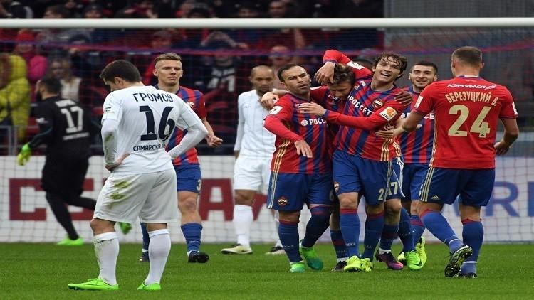 تسيسكا يشعل المنافسة على لقب الدوري الروسي