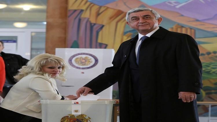 تصدر الحزب الحاكم في الانتخابات البرلمانية الأرمنية