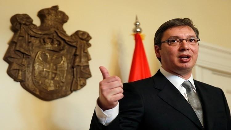 رئيس وزراء صربيا يفوز بالانتخابات الرئاسية