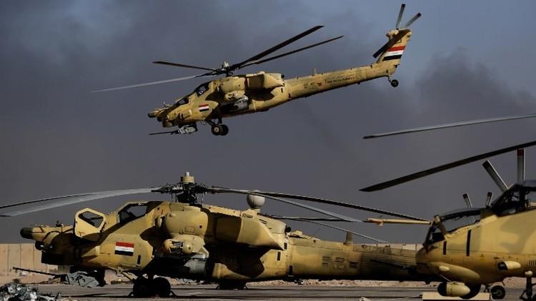تدمير دبابة تابعة لداعش شمال غرب العراق