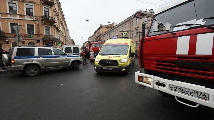 المواصلات العامة في سان بطرسبرغ تنقل الركاب مجانا
