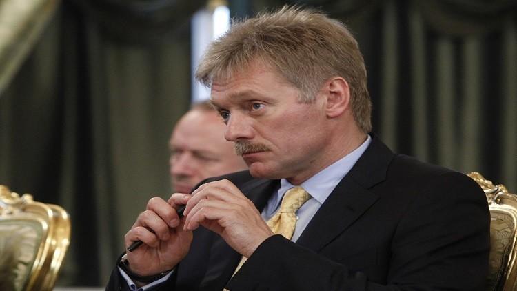 بيسكوف: بوتين يتلقى المعلومات أولا بأول عن تفجير بطرسبورغ
