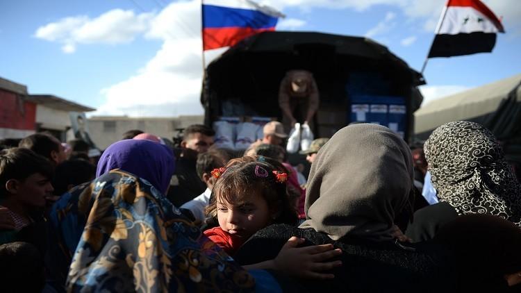 دفعة جديدة من المساعدات الروسية للمتضررين في سوريا