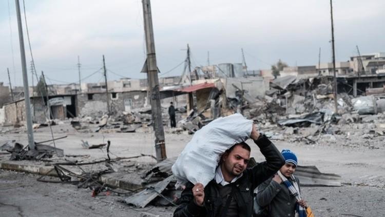أكثر من 300 ألف شخص نزحوا من الموصل