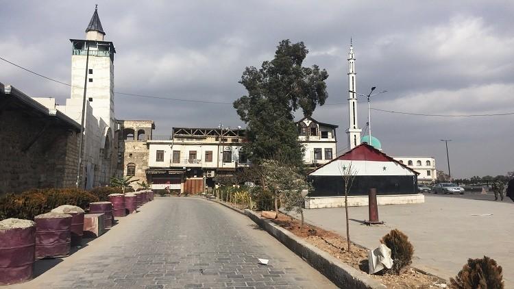 مسلحون يقصفون دمشق بقذائف الهاون