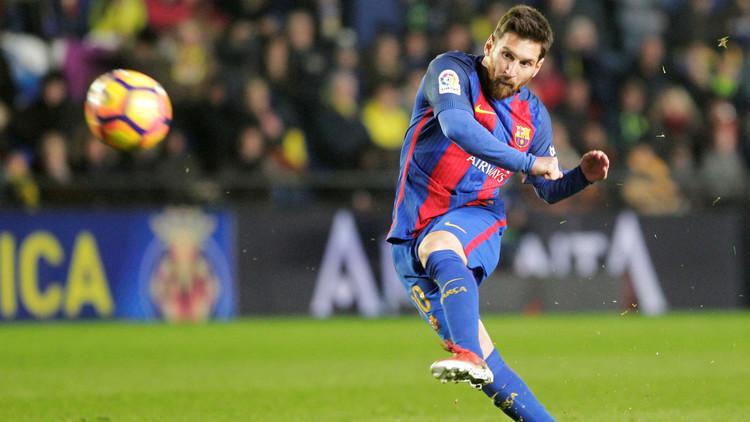 ميسي وأهدافه من ركلات الجزاء مع برشلونة