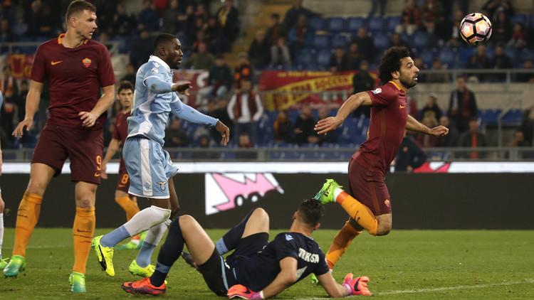 روما يودع كأس إيطاليا رغم ثلاثية الفراعنة