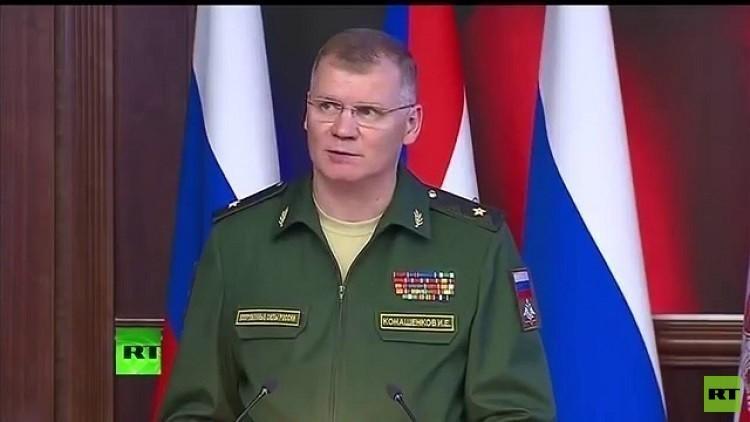 الدفاع الروسية: طائرات سورية قصفت مستودعا للإرهابيين احتوى على أسلحة كيميائية في خان شيخون