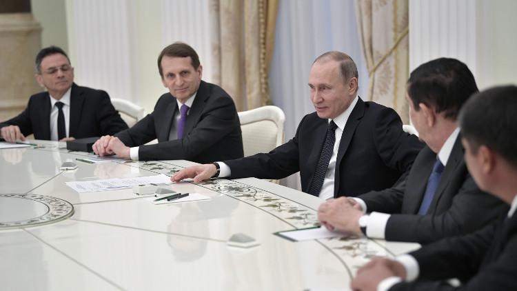 بوتين يجمع قادة أجهزة الأمن في بلدان رابطة الدول المستقلة