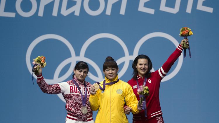 تجريد رباعة روسية من ميدالية أولمبياد لندن 2012