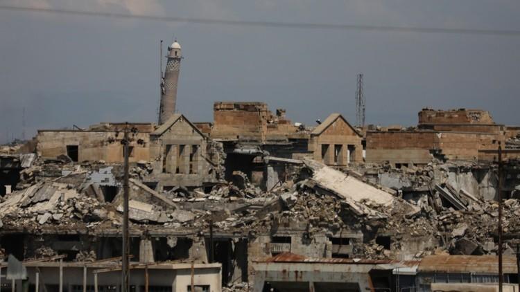 المساعدات المقدمة للنازحين من الموصل لا تغطي 10%