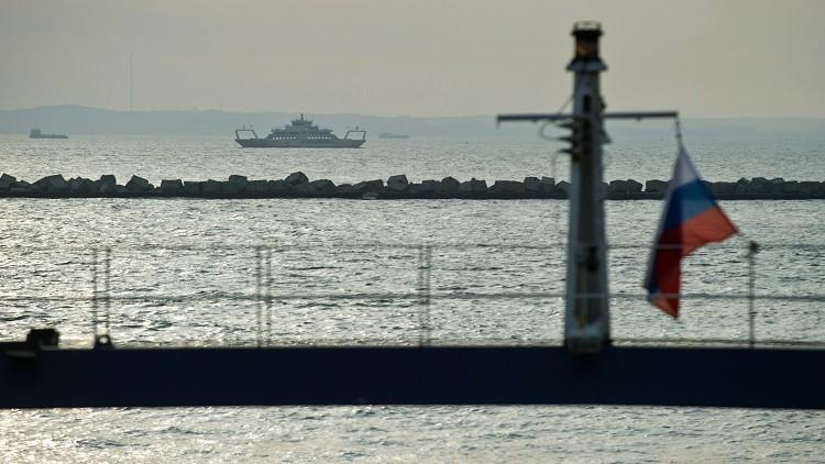 احتجاز سفينة صيد أوكرانية في القرم