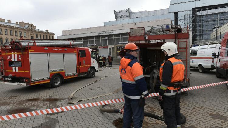 هوية اثنين من ضحايا تفجير سان بطرسبورغ لازالت مجهولة