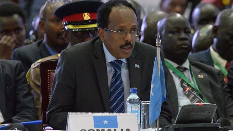 الرئيس الصومالي يشن هجوما جديدا على مسلحي