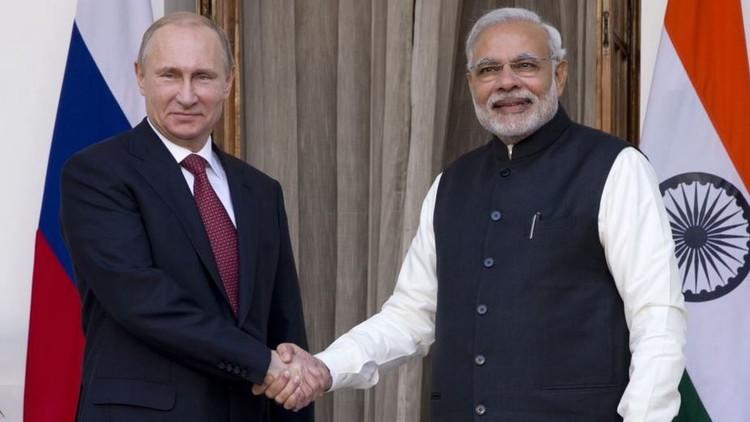 بوتين ومودي يدعوان إلى تنشيط جهود المجتمع الدولي في محاربة الإرهاب