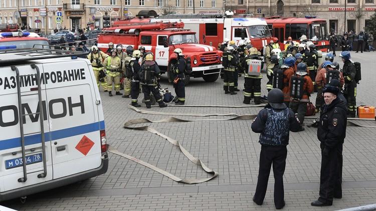 توقيف 8 أشخاص على صلة بهجوم سان بطرسبورغ