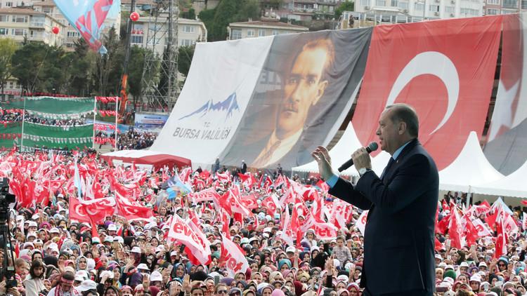أردوغان: الضربات الأمريكية ضد سوريا غير كافية