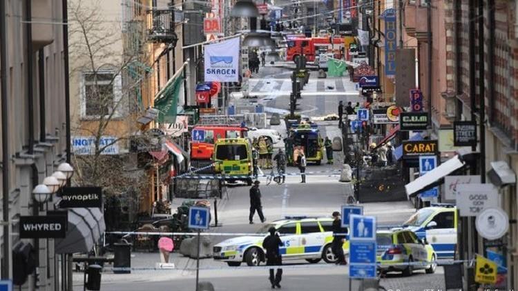 الشرطة السويدية تعتقل شخصا يشتبه بتورطه في اعتداء ستوكهولم (صور)