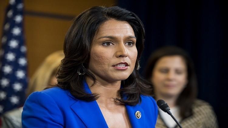 عضو الكونغرس غابارد تصف قرار ترامب الهجوم على سوريا بـ