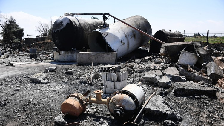 الدفاع الروسية: لم يقدم البنتاغون أو الخارجية الأمريكية أي دلائل على وجود أسلحة كيمياوية في الشعيرات
