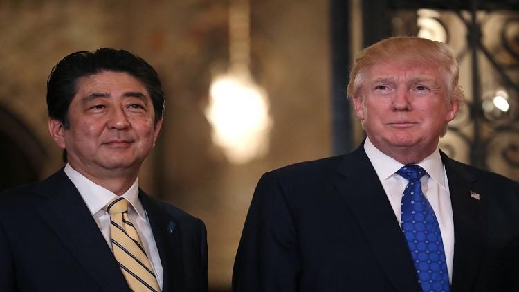 ترامب وآبي يناقشان الوضع في سوريا وسبل الضغط على كوريا الشمالية!