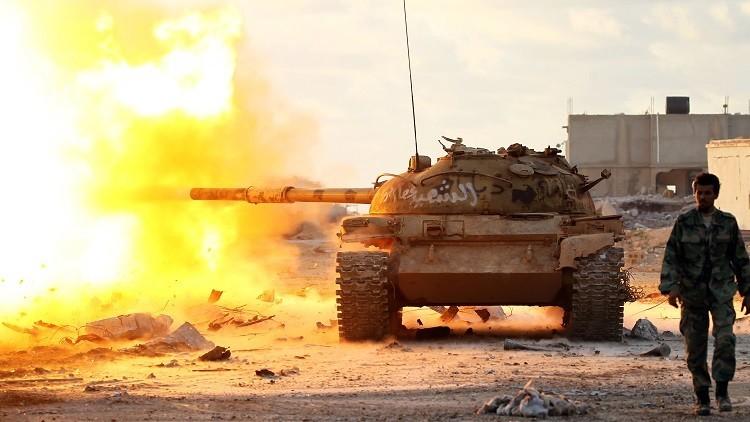 الوفاق الليبية تطلق عملية عسكرية ضد قوات حفتر