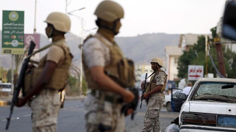 إحباط عملية انتحارية بعدن وقتل الإرهابي قبل لحظات من تفجير نفسه (صور)