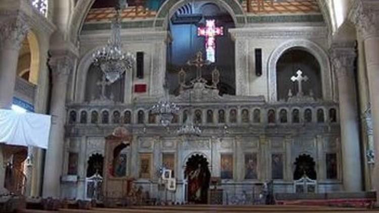أول فيديو من موقع تفجير الكنيسة المرقسية في الاسكندرية