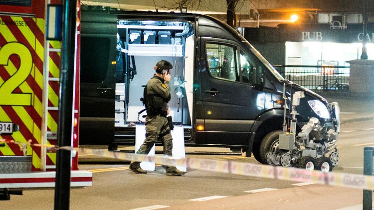 شرطة النرويج توقف شابا من روسيا ترك عبوة في أوسلو