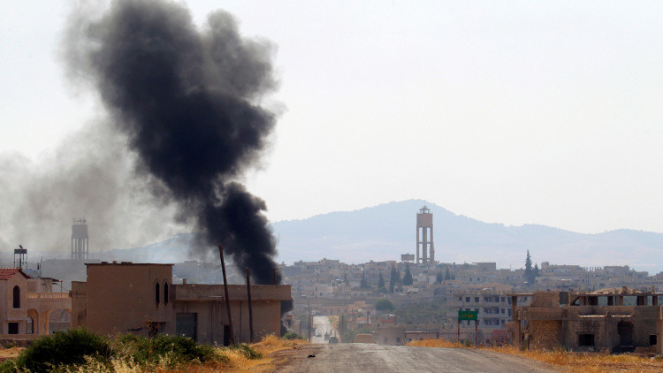 20 جريحا بعد قصف محردة المسيحية بريف حماة السورية