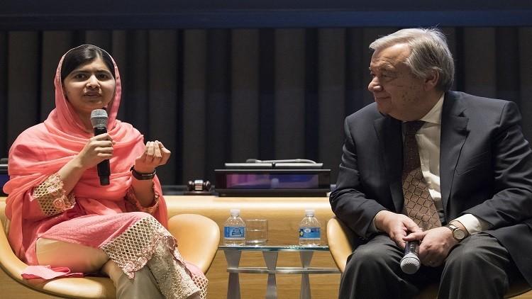 ملاله.. من ضحية لعنف المتشددين إلى سفيرة سلام للأمم المتحدة