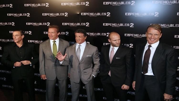 سيلفستر ستالون يغادر سلسلة أفلام The Expandables